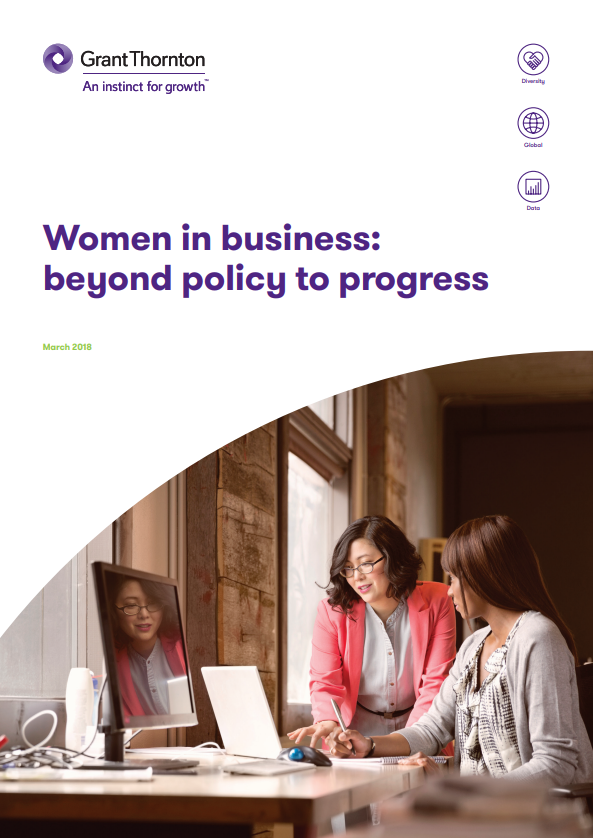 Women in business: beyond policy to progress by Grant